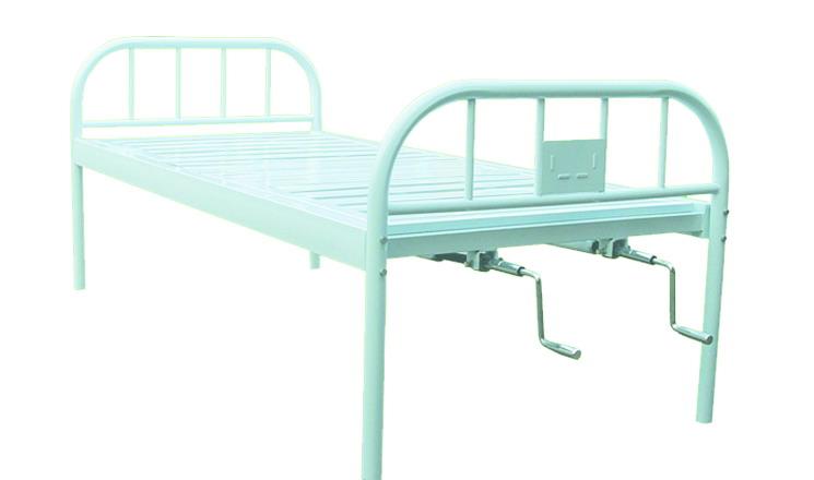 不锈钢床头平板床图片